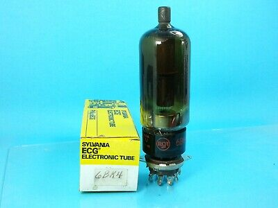 RCA 6BK4C 6EL4A  6EN4  VACUUM TUBE USED TESTS GOOD SINGLE IN SYLVANIA BOX (Sylvania-box)