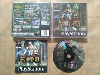 LEGACY OF KAIN: SOUL REAVER ~ PAL PlayStation 1 ~ VGC, COMPLETE & FULLY TESTED ~
