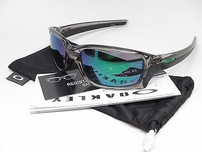 Oakley Straightlink OO9331-03 Grey Ink w/Jade Iridium Sunglasses