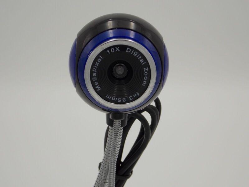 "NEW Staples 905798 1.3mp USB 5"" Gooseneck Webcam with Microp"