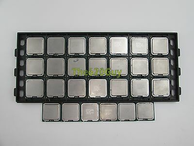Lot of 27 Intel Core 2 Duo Socket 775 Conroe/Wolfdale/Allendale CPU Processors
