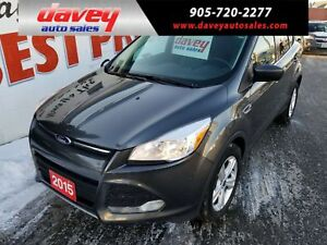 2015 Ford Escape SE BACK UP CAMERA, HEATED SEATS, POWER WINDOWS