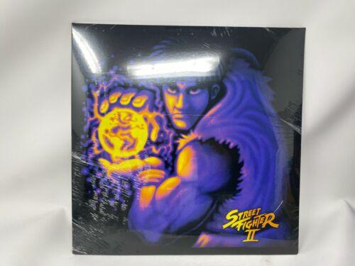 STREET FIGHTER II 2 VINYL RECORD LP OST - RETRO LEAF RECORDS NEON VIOLET
