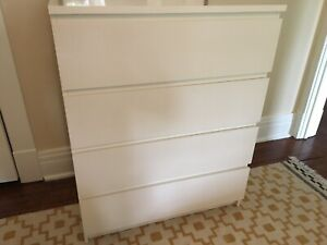 IKEA Malm 4-Drawer Dresser