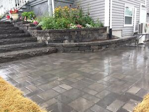 Retaining walls, walkways, stone work