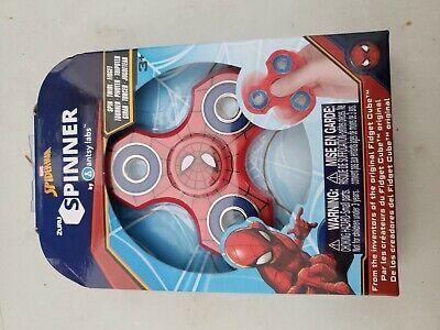 ZURU SPINNER Marvel SPIDERMAN SPIDER-MAN Fidget Twirl Antsy Labs