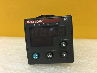 Watlow Series 96 96a0-caaa-00rg 100 To 240 Vac Temperature Controller. Tested