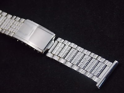 Best Quality Flying Wheel Mens Vintage Watch Band Stainless Deployment Clasp