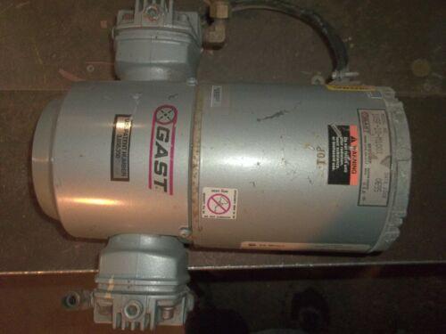 GAST 1VSF-10-M100X VACUUM PUMP GE 5KH33GN293HX MOTOR 1/6 HP M100GX (P6)