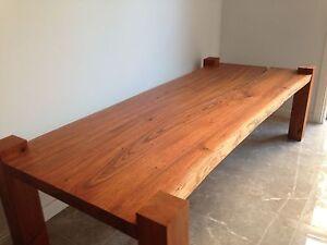 New Red Cedar Slab Coffee Table Tarragindi Brisbane South West Preview