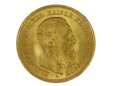 Kaiserreich 10 Mark 1888 Gold Friedrich III. Deutscher Kaiser König von Preußen