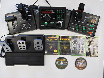 Used Steel Battalion and Steel Battalion Line of Contact w/ Rare Tank Controller