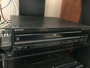 Sony 5 disc changer with remote