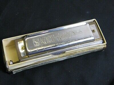 Koch Chromatic harmonica in G made in Germany
