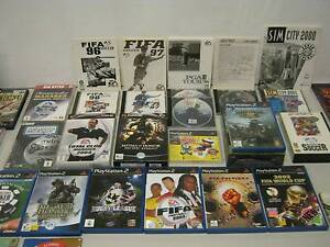 PlayStation 2 + Sega + PC Games + User Manuals - starting from $1 Surry Hills Inner Sydney Preview