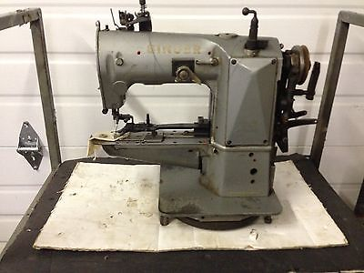 Singer 421x25 X Stitch Buttton Sewer Head Only Industrial Sewing Machine