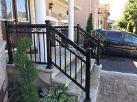 Aluminum Railings - Professional Installation 416-887-3335