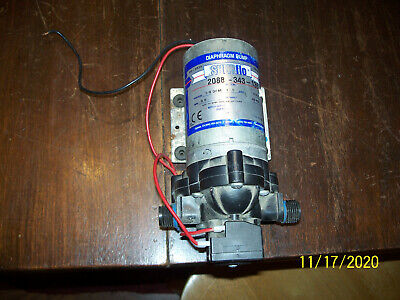 Pentair Shurflo Pump 2088-343-135 12v Diaphragm Pump 3.0 Gpm