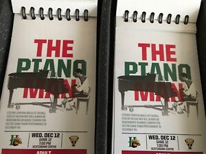 Halifax Mooseheads Lower bowl tickets(2) Wednesday Dec 12