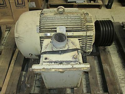 Westinghouse Ac Motor Taep 100hp 1775rpms 460v 112a 405t Frame Used