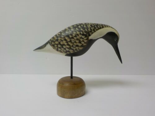 "Hand Carved & Painted Brimton 6.25"" Shore Bird, c. 2005 (#2)"