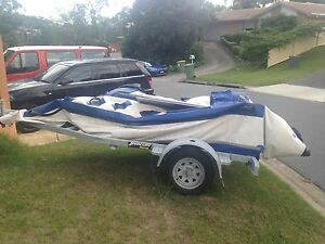 1 x Oz Duck/Rubber Duckie Speed Boat + Trailer Arundel Gold Coast City Preview