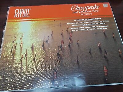 Maptech Chart Kit Chesapeake and Delaware Bays Region 4 6th Edition  ()