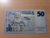 50 Naira Banknote aus Nigeria Hessen - Griesheim Vorschau