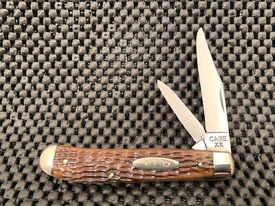 CASE XX 6207 1940-64 MINI-TRAPPER GREEN BONE HANDLED KNIFE