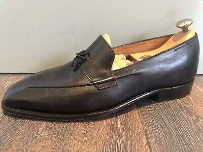John Lobb Loafers, Black, Excellent Condition, Includes Dust bags, Size 10 E UK