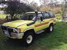 1985 Toyota 4 Runner Wagon LONG REGO, NEW TYRES Kellevie Sorell Area Preview