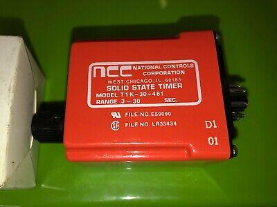 NCC National Controls Corp DNC-T2006-A10 Program Control 105-135 VAC TSC