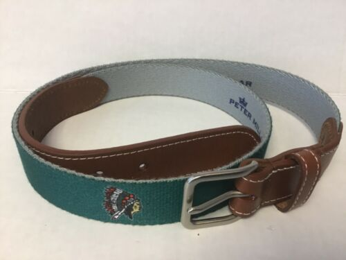 Tequesta Country Club Size #38 Needle Point Golf Belt (RARE)