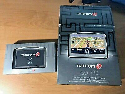 Tomtom Go 720 4.3 Inch Widescreen Bluetooth Portable GPS Navigator ORIGINAL BOX