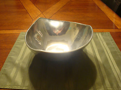 Valerie Graham Collectible metal serving bowl dish tray