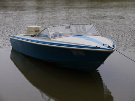 Savage Electra 16.5 ft Speed boat 100hp Johnson 12m Reg RTR