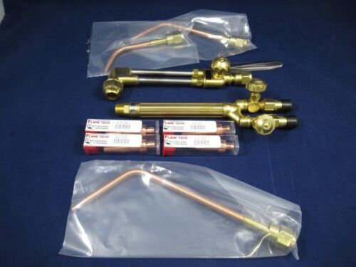 Flame Tech Victor Style Medium Duty Oxy-Acetylene Torch Kit NEW!