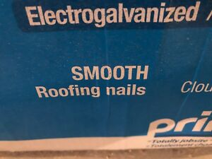 Full box and then some of 1   1/4 roofing nails .120 15*