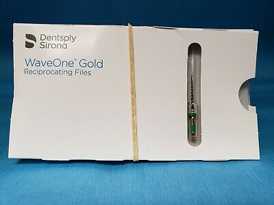 Dentsply Sirona Waveone Gold Reciprocating Files Medium 25mm 5 Pcks