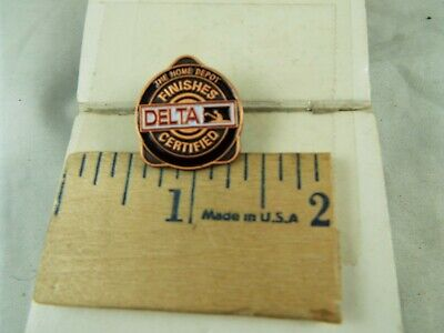 THE HOME DEPOT FINISHES DELTA CERTIFIED PIN