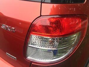 Suzuki SX4 taillight headlight headlamp