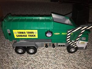 Motorized Tonka Garbage Truck