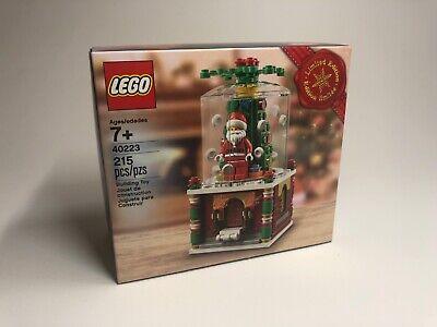 LEGO Christmas Limited Ed. 2016 Santa Snowglobe 40223 Holiday NEW IN BOX RETIRED