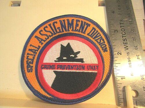 New Orleans Police Special Assignment Div Crime Prev patch NOS LA Louisiana