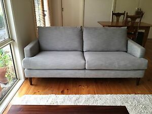 Brand new grey Freedom Furniture Mila 3 seat sofa Hahndorf Mount Barker Area Preview