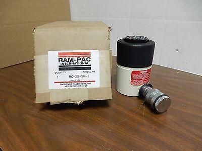 Ram-pac Rc-25-sa-1 Hydraulic Cylinder 25 Ton 1 Stroke Equiv. To Enerpac Rc-251