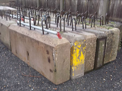 CONCRETE ROAD BLOCK / SECURITY BARRIERS + DELIVERY