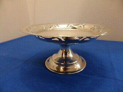 Small Art Deco Style Silver Plate Dish
