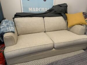 2 5 Seater Beige Fabric Sofa By Vue