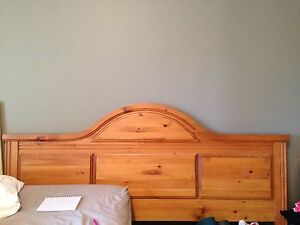 King Solid wood bed set